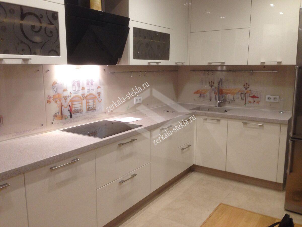 Фартук с фотопечатью на кухню