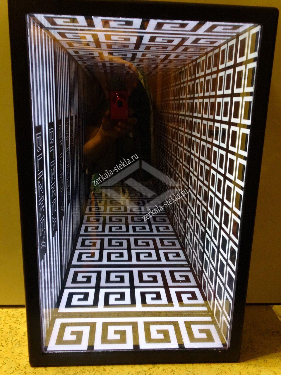 Как сделать туннель из зеркала